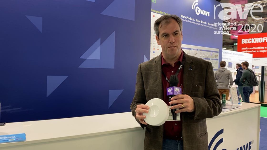 ISE 2020: Intellithings Adds RoomMe Occupancy Sensor for Home Automation on Z-Wave Alliance Stand