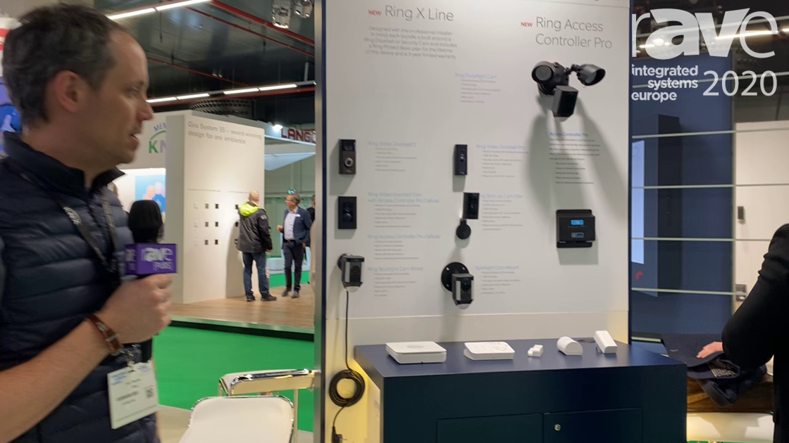 ISE 2020: RING Alarm Systems Has Security Products Powered by Z-Wave Alliance, Including New X Line
