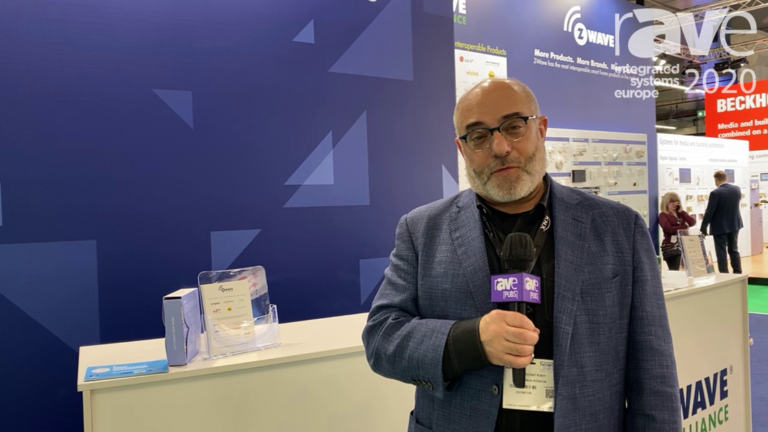 ISE 2020: Z-Wave Alliance Talks About Smart Home Ecosystem Using Z-Wave