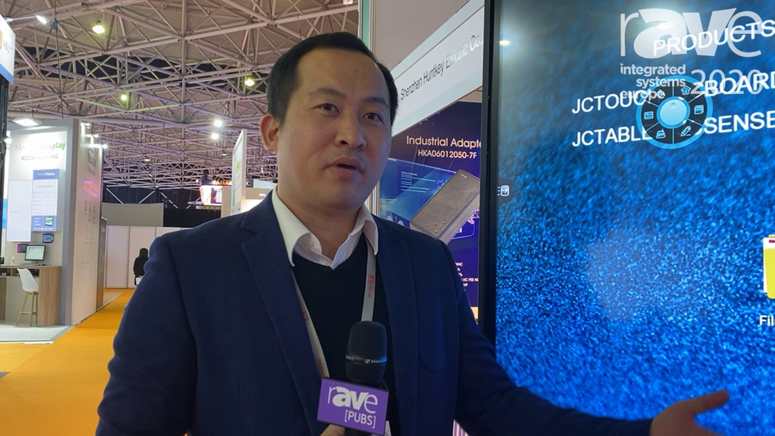 ISE 2020: JCVision Showcases the JCTouch Interactive Touch Display for Education or Corporate