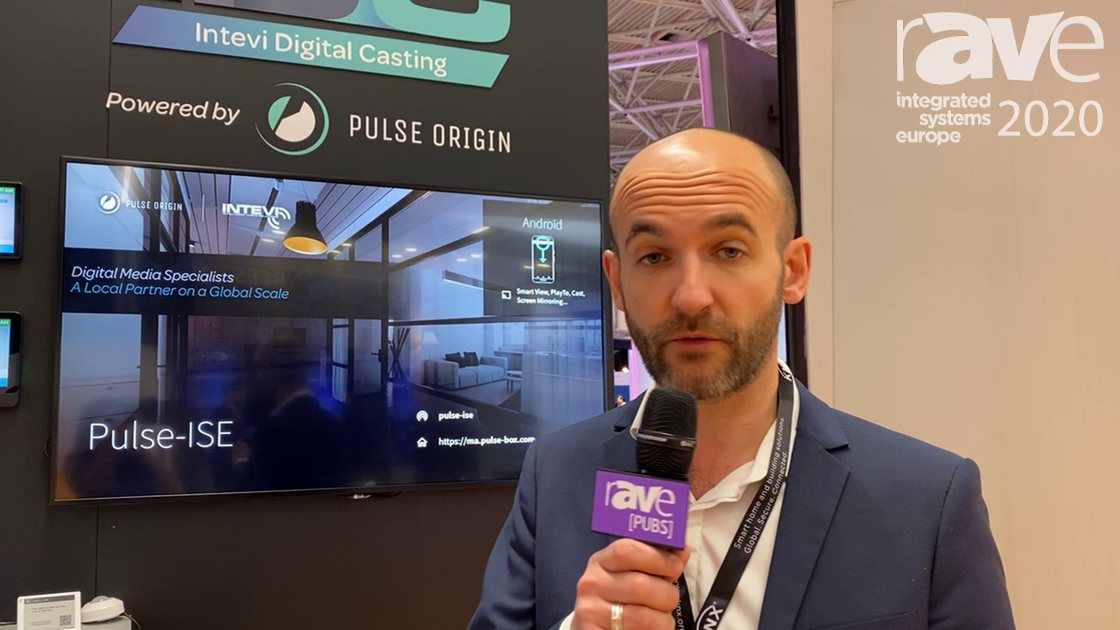ISE 2020: Intevi Explains Pulse Box Wireless Display Solution for Meeting Rooms
