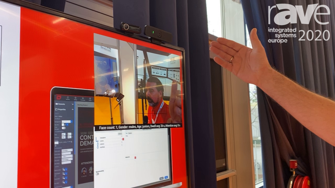 ISE 2020: Wallboard Highlights Audience Measurement Tool Using AI Camera