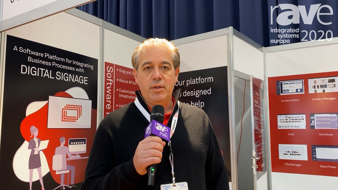 ISE 2020: Wallboard Talks Digital Signage Platforms via Content Creation and Interactivity