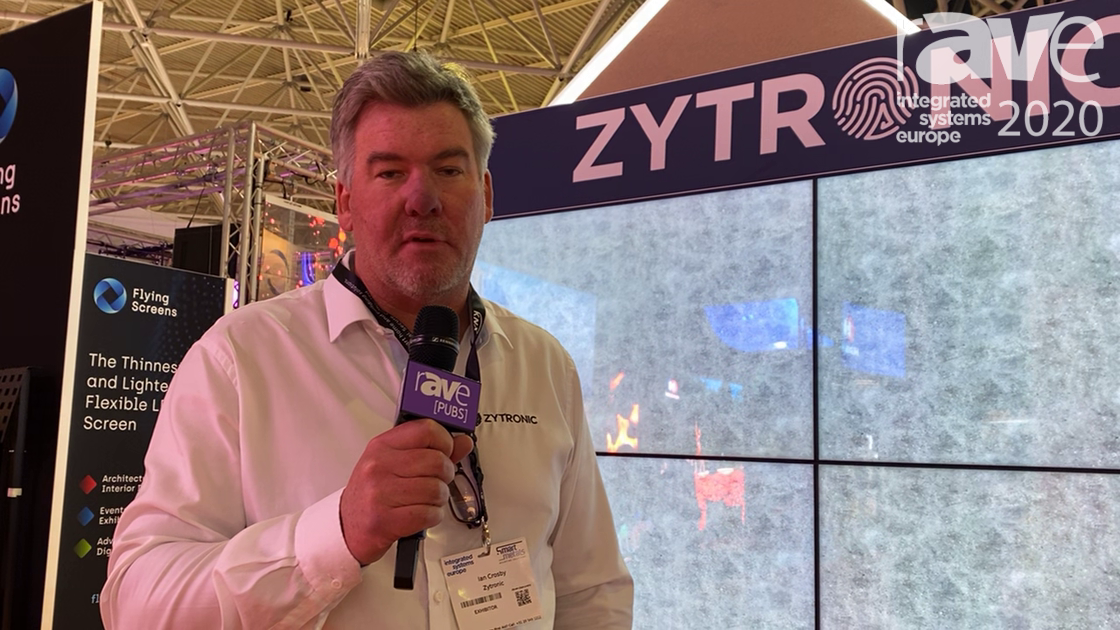 ISE 2020: Zytronic Showcases Zybrid Edge Interactive Video Wall