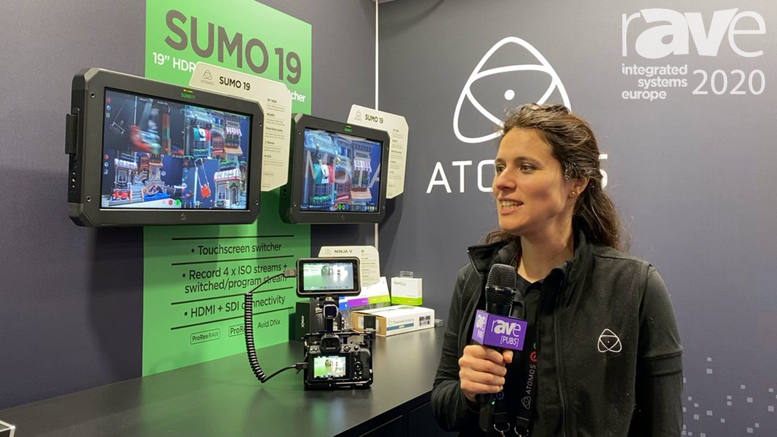 ISE 2020: ATOMOS Shows Sumo and Ninja V High-Brightness Monitor Recorders and Switchers
