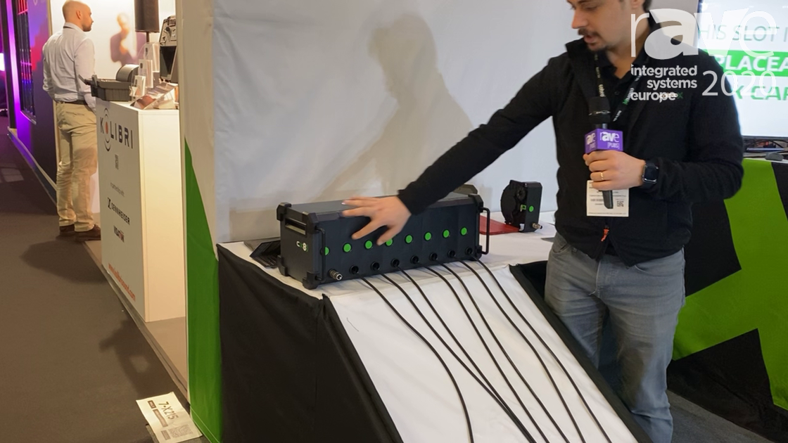 ISE 2020: Cabrox Stage Technologies Presents CX8Pro IN New Generation Stage Box