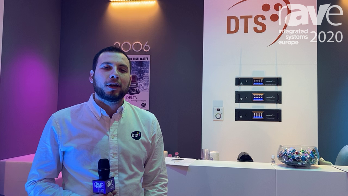 ISE 2020: DTS Displays Alchemy 3 Wash Light and Euphony 3 Ceiling Light