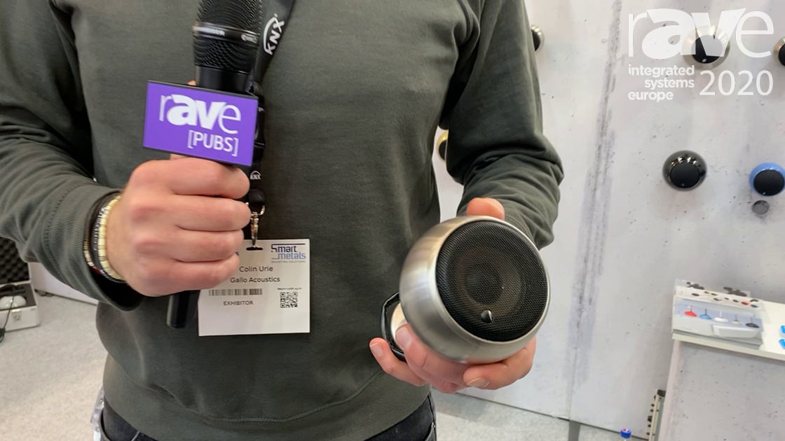 ISE 2020: Gallo Acoustics Shows Off Waterproof Series of Spherical Loudspeakers