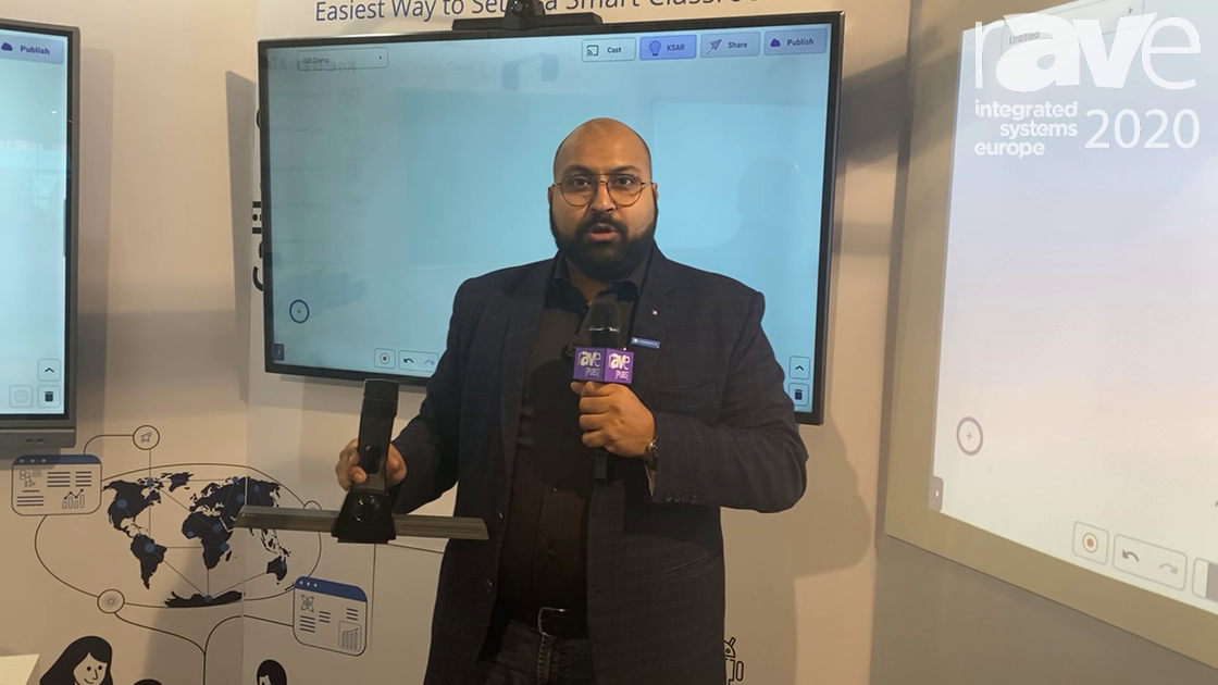 ISE 2020: Cybernetyx Showcases Galileo ONE Solution for Converting Any Display into a Touch Screen