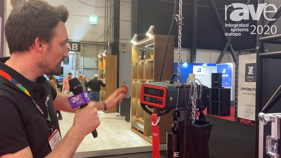 ISE 2020: EXE Technology Shows Load Cell with Wired and Wireless Options