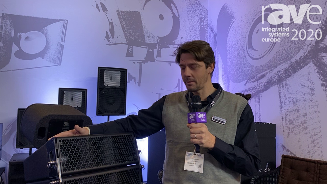ISE 2020: Loud Professional Shows Formula F205 Line Array Speakers