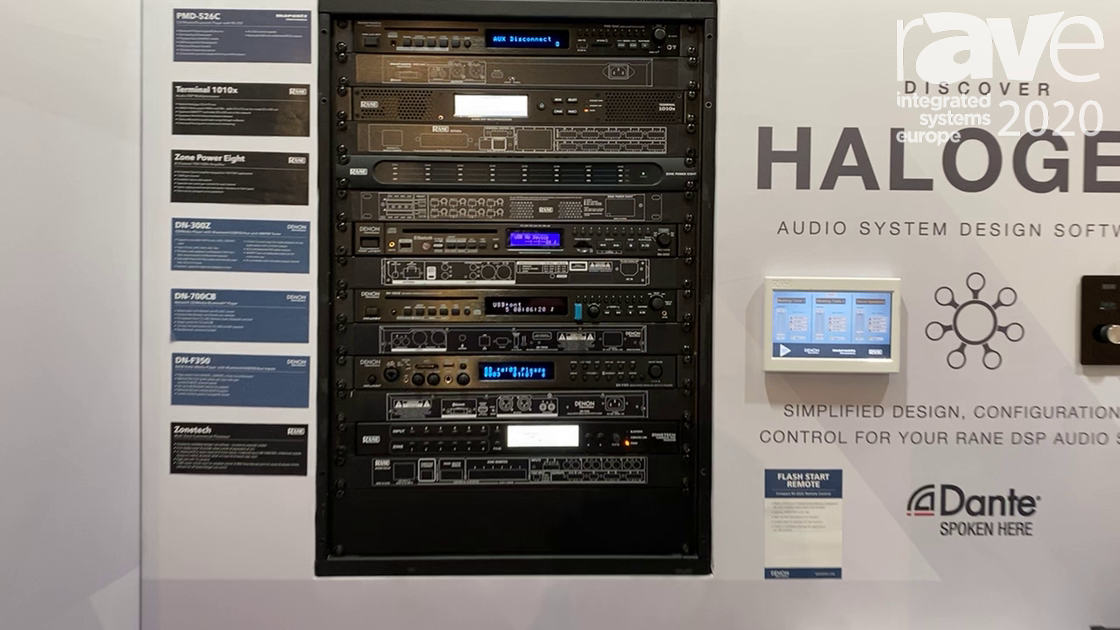 ISE 2020: Rane Corporation Features Terminal 1010x DSP, Halogen Software and Zone Tech 6×6 DSP