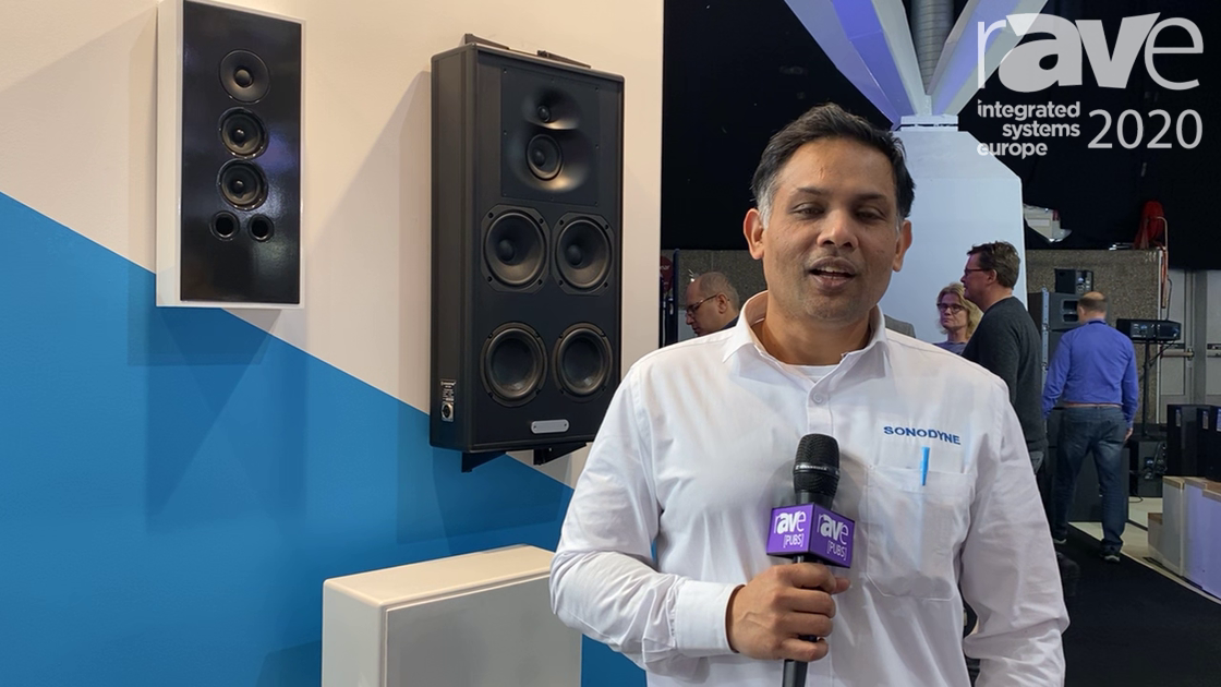 ISE 2020: Sonodyne Talks About Series of Powered Speakers for Studio and Custom Install