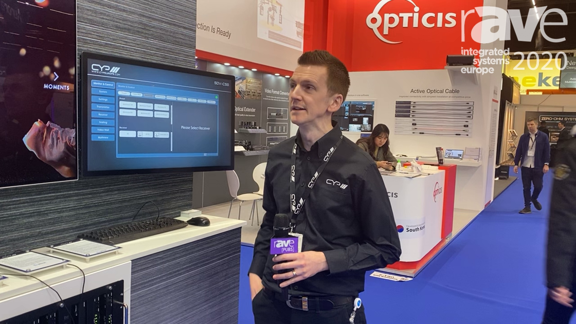 ISE 2020: CYP Talks About Its SDVOE 10Gig AV-Over-IP System With Multiview