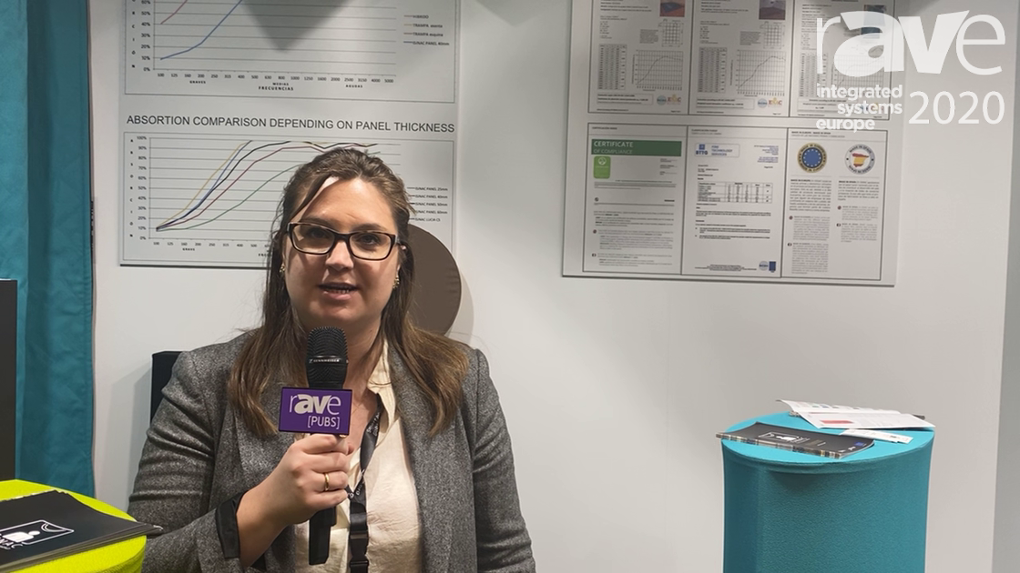 ISE 2020: Isinac Talks About Acoustic Absorbent Panels Made in Europe