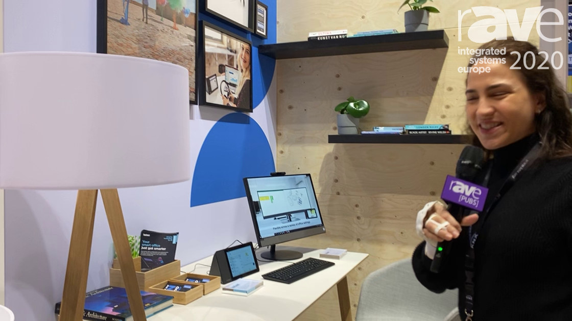 ISE 2020: Lenovo Shows the ThinkSmart View for Personal Spaces and Phone Booths, Ready for Teams