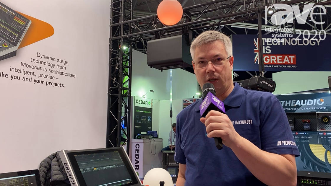 ISE 2020: Movecat Presents I-Motion-Net Family for Stage Kinetics Controlled by Box Principle System