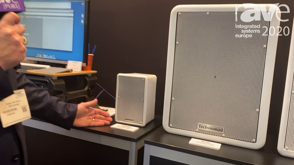ISE 2020: Technomad Adds 5″ Bass Driver to Tiny, Weatherproof Vernal Loudspeaker