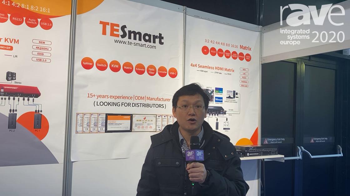 ISE 2020: Tesla Electronic Technology Company Limited Intros 4×1 KVM Switch