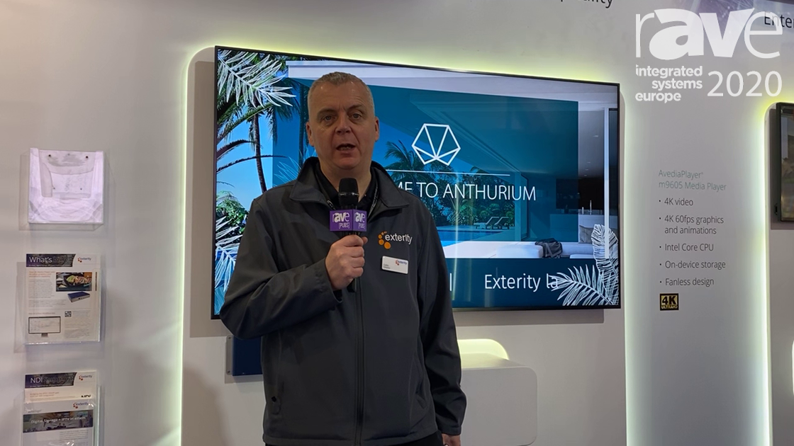ISE 2020: Exterity Introduces M9605 4K@60 Media Player