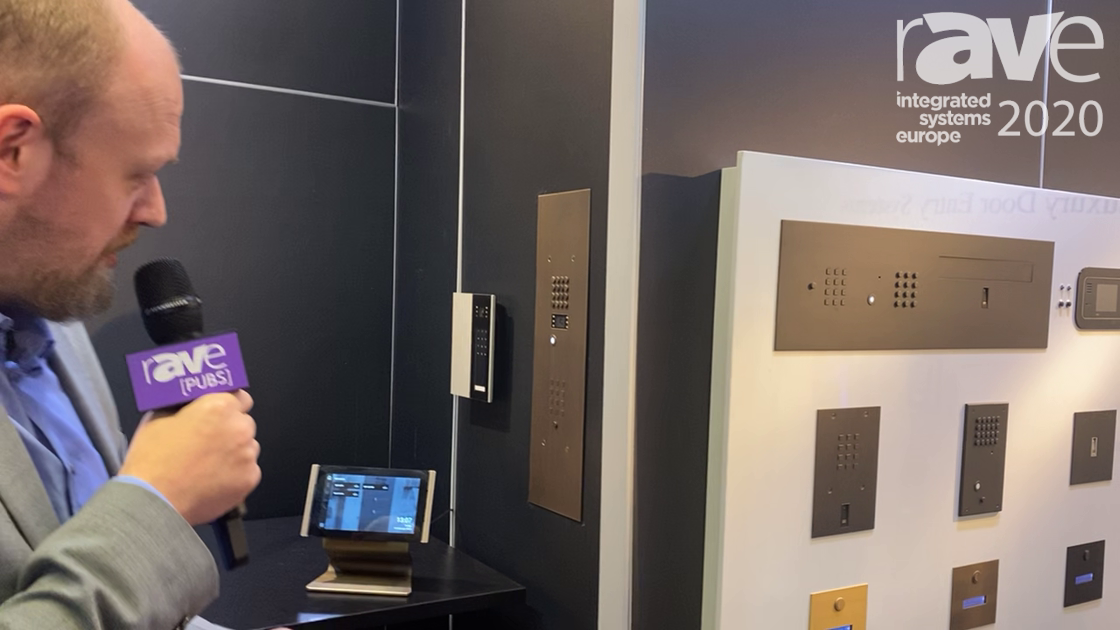 ISE 2020: Fasttel Shows Off Beautiful Bronze IP Doorphone