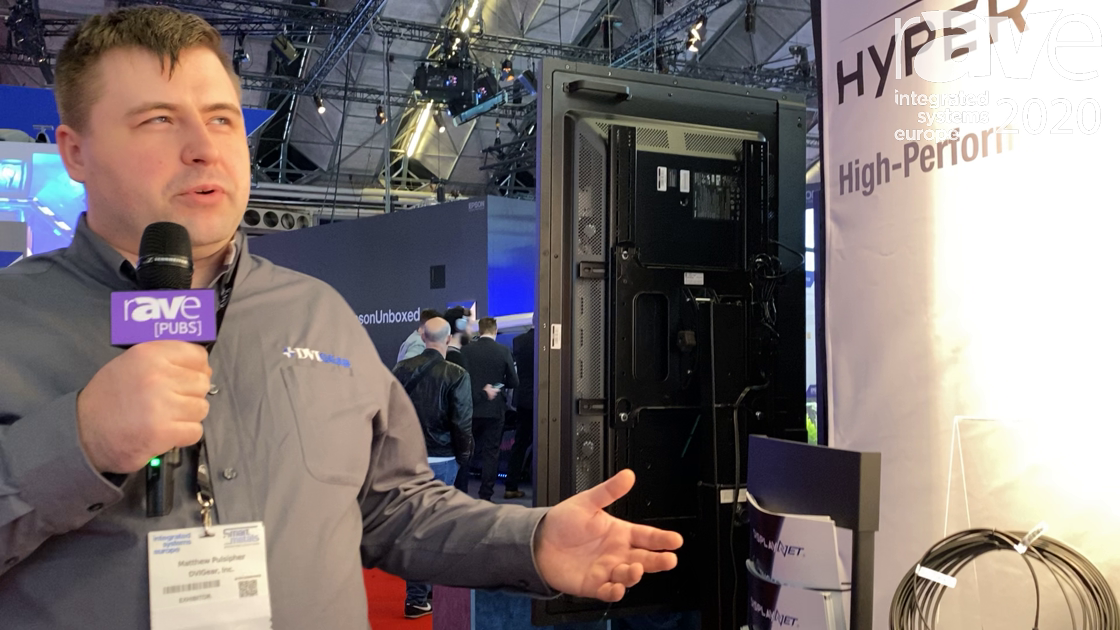 ISE 2020: DVIGear Showcases the HyperLight DVI Active Optical Cable With Detachable Connectors