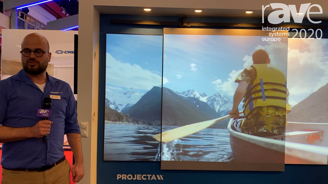 ISE 2020: Da-Lite/Projecta Explains PARALLAX Stratos ALR Projection Screen Material Options