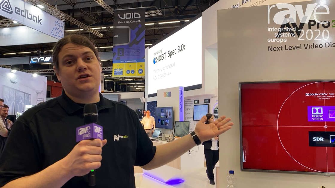ISE 2020: AVPro Edge Shows AC-EX70-444-Kit Ultra Slim 4K60 4:4:4 HDR HDBaseT Extender