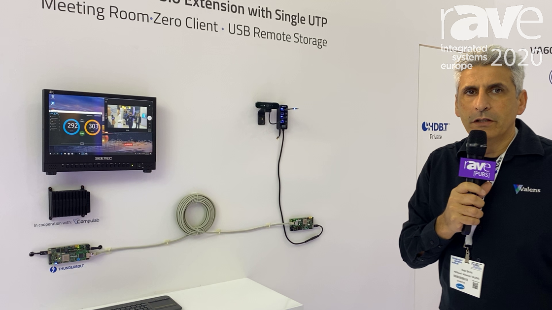ISE 2020: HDBaseT Alliance Demos Low-Cost USB 3.0 Extension with Single UTP Using HDBaseT 3.0 Spec
