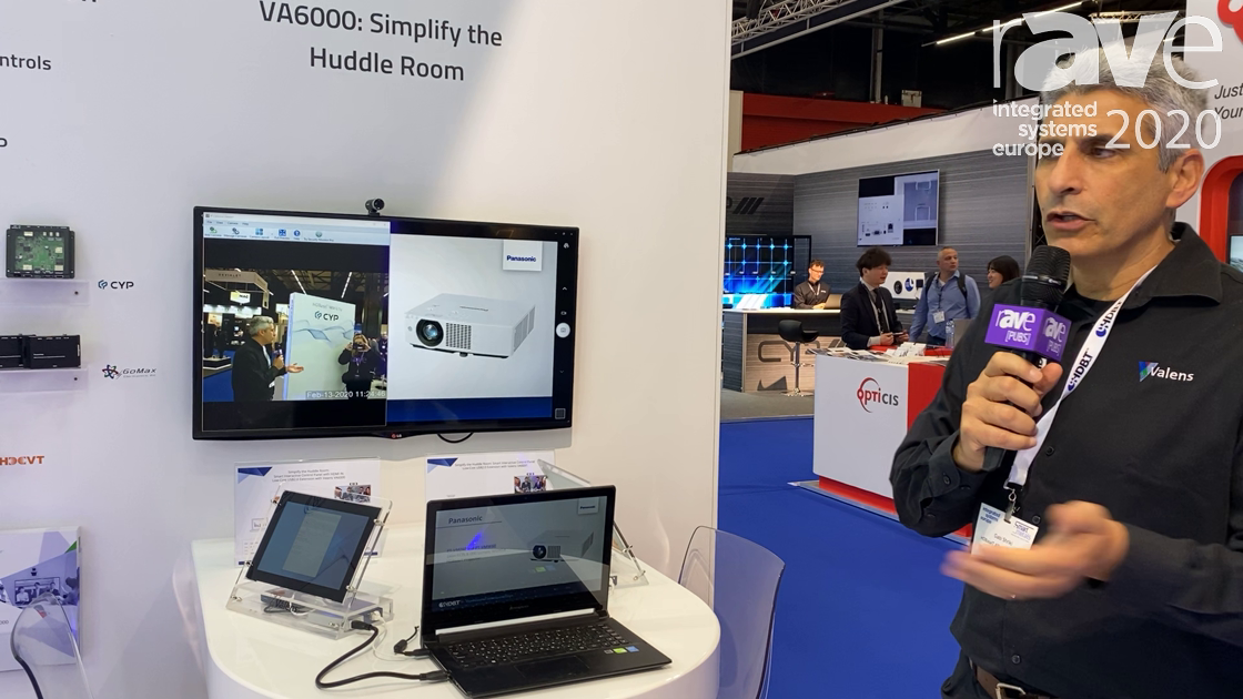 ISE 2020: HDBaseT Alliance Demos VA600 Simplified Huddle Room with Low-Cost USB 2.0 100m Extension