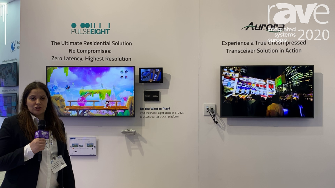 ISE 2020: HDBaseT Alliance Demos 3.0 Spec in neo by Pulse-Eight and Aurora Multimedia HT Pro Series