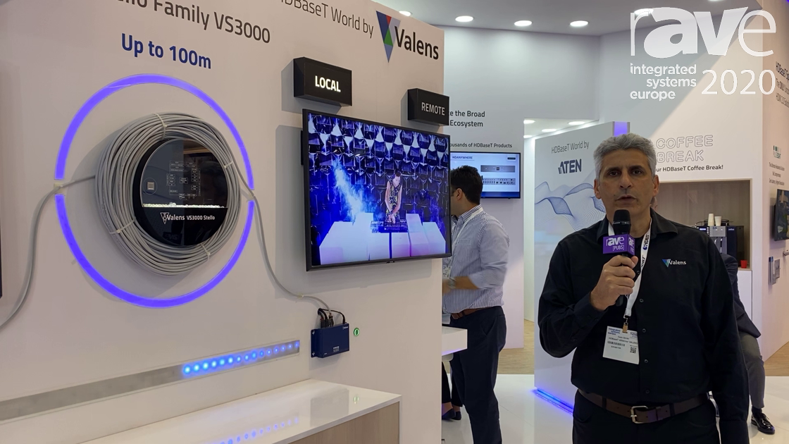 ISE 2020: HDBaseT Alliance Intros Valens Stello VS3000 Spec for Uncompressed HDMI 2.0 Distribution