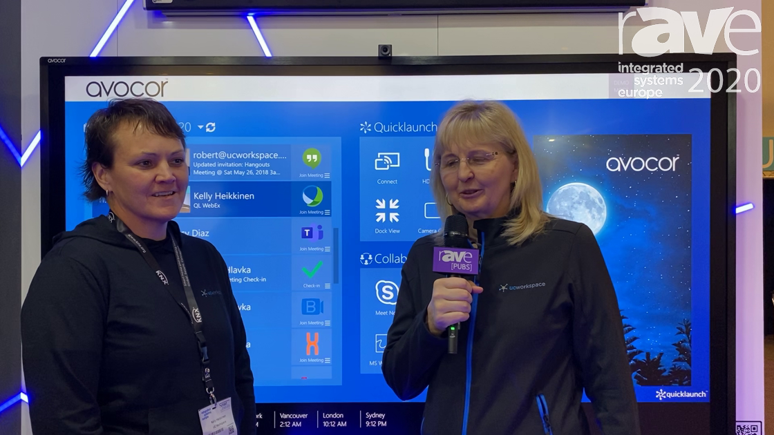 ISE 2020: Angela Hlavka and Kelly Heikkinen of UCWorkspace About WEAV, UCCentral and ISE 2020