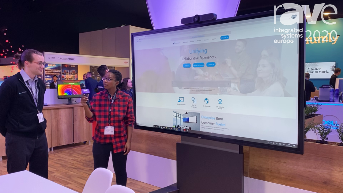 ISE 2020: UCWorkspace & Dell Talk About How Their Solutions Work Together for Meeting Room Solutions
