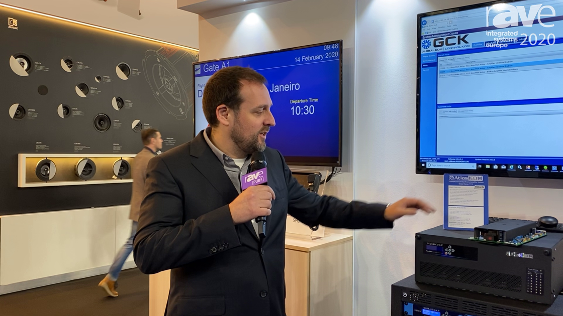 ISE 2020: AtlasIED Features T112 TitanONE Smart Mainframe 12-Channel Modular Amplifier System