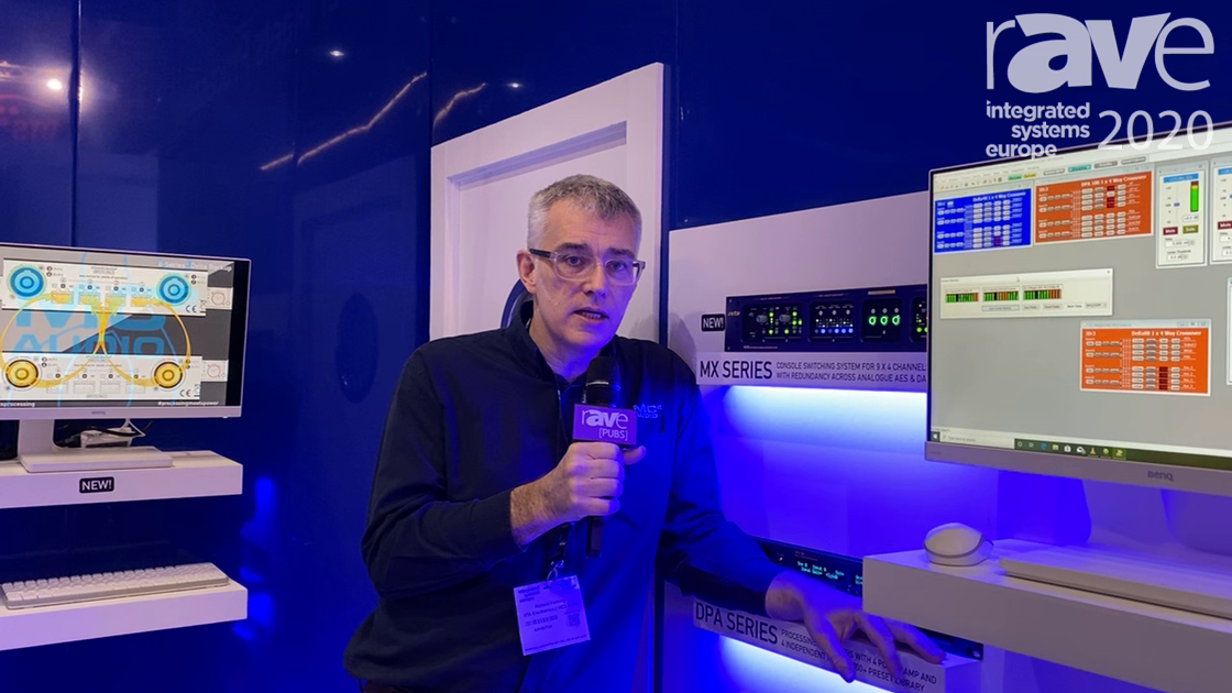ISE 2020: MC2 Audio Intros the MX36 Console Switching System, Switches Between Dante, AES, Analog
