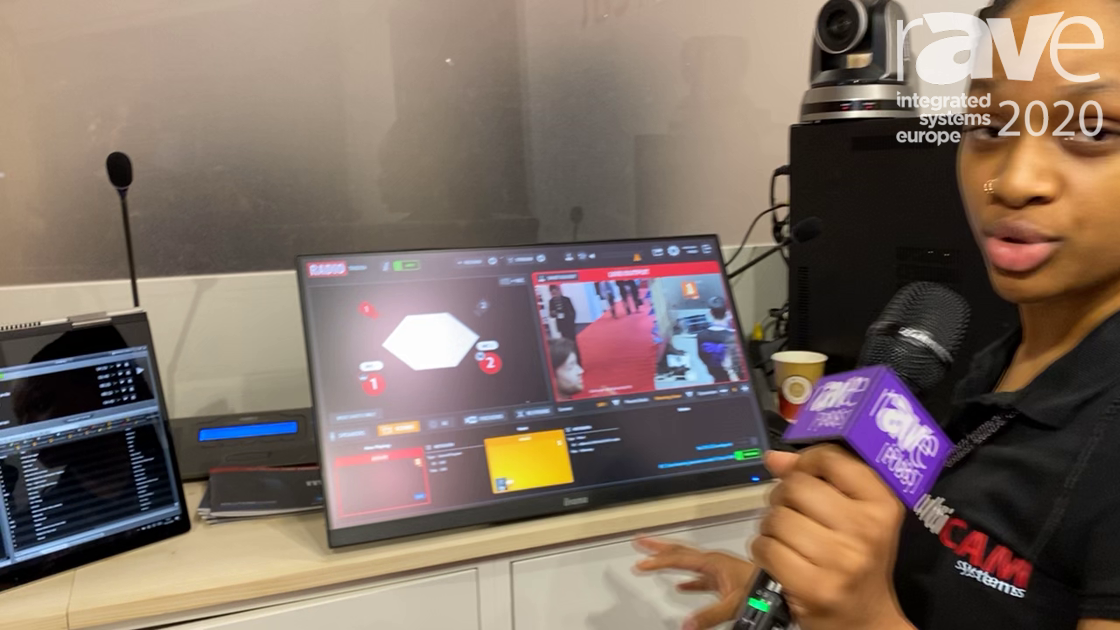 ISE 2020: MultiCAM Systems Demos Fully Automated Camera System With Playout Software