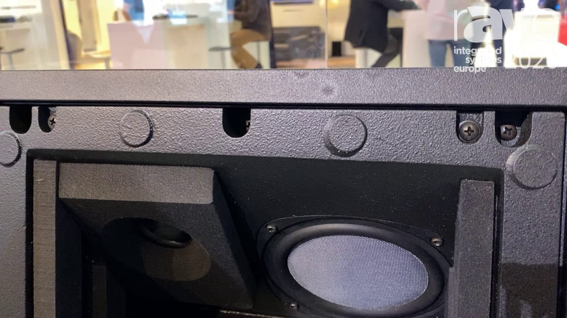 ISE 2020: Phase Technology Presents In-Ceiling LCR Speaker for Home Cinema