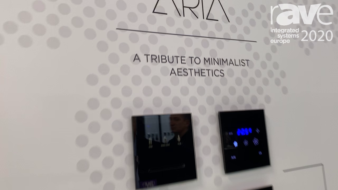 ISE 2020: Black Nova Shows Off Aria and Alba Series of Smart Home Touch Panels on KNX Stand
