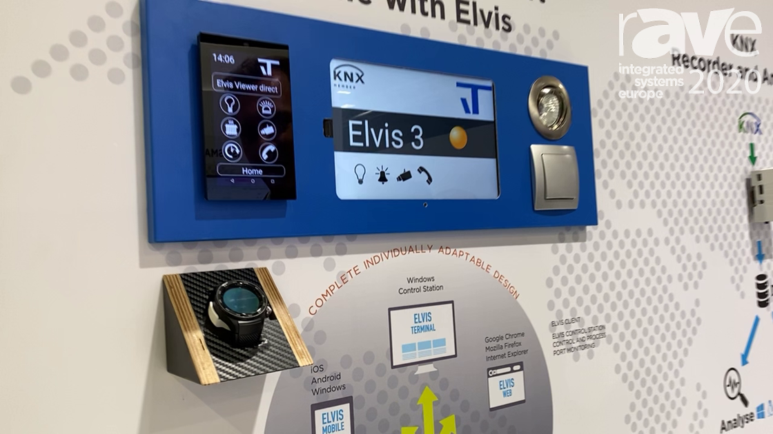 ISE 2020: IT Gesellschaft Shows KNX and IoT for Smart Home With Elvis, KNX Recorder and Analyser