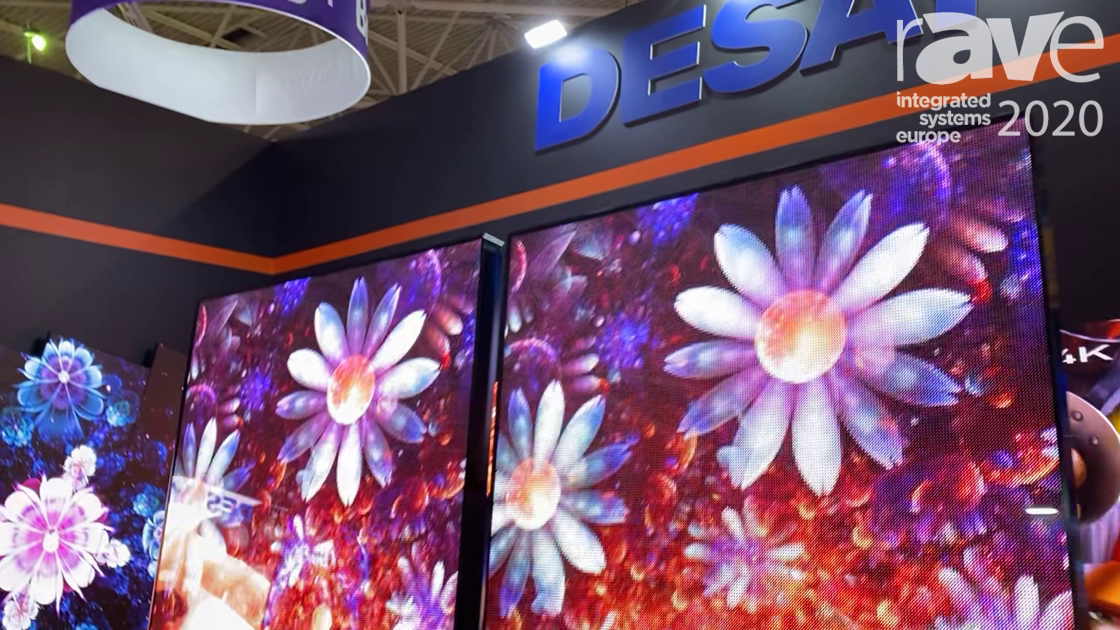 ISE 2020: Desay Highlights Indoor/Outdoor Series A LED Poster for Retail Applications