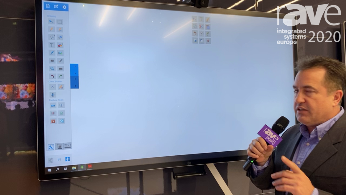 ISE 2020: Elo's 6553L Is a 65-inch, 4K Interactive Display Perfect for Collaboration