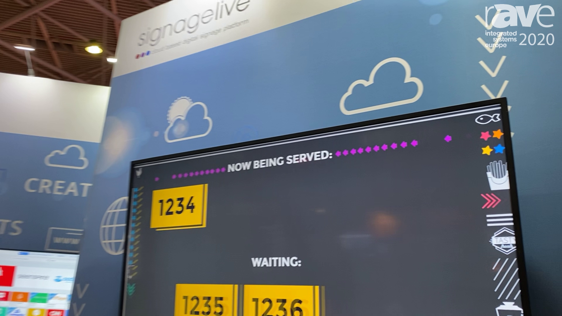 ISE 2020: Signagelive Features Collaboration Software, Partnerships With Mersive and Airtame
