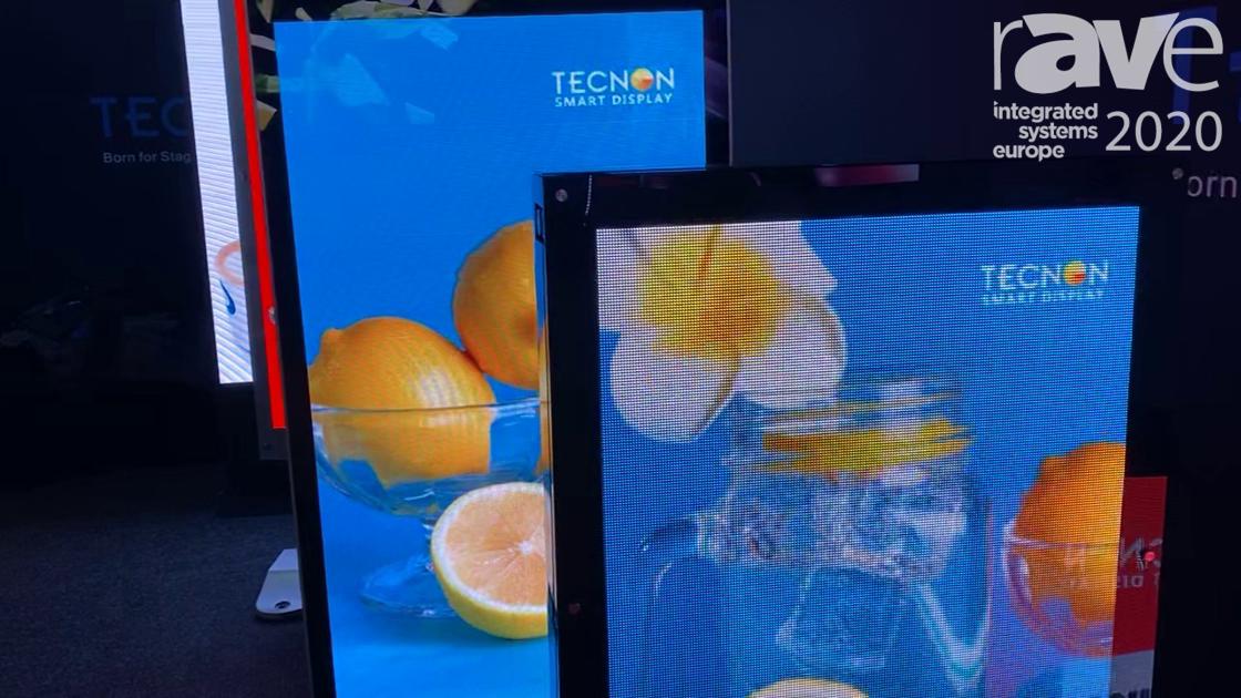 ISE 2020: Tecnon Presents Outdoor Kiosks With 7500-Nit Brightness
