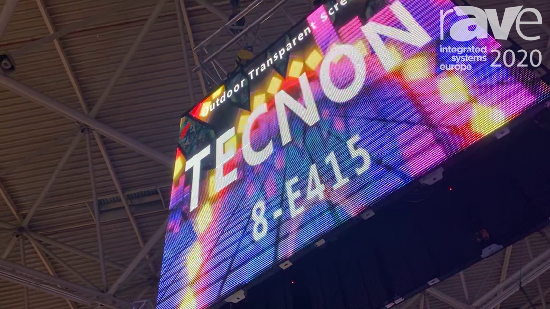 ISE 2020: Tecnon Presents Outdoor Transparent Display (In Mandarin Chinese)