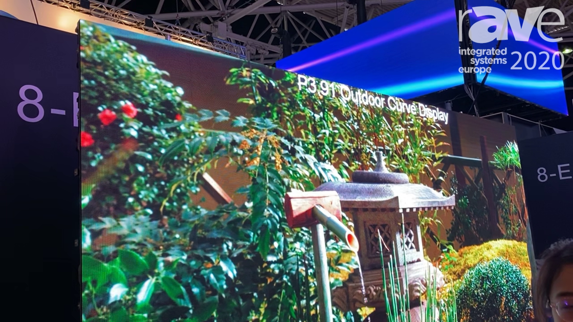 ISE 2020: Tecnon Shows Outdoor P3.91 LCD With Special Cabinet Installation
