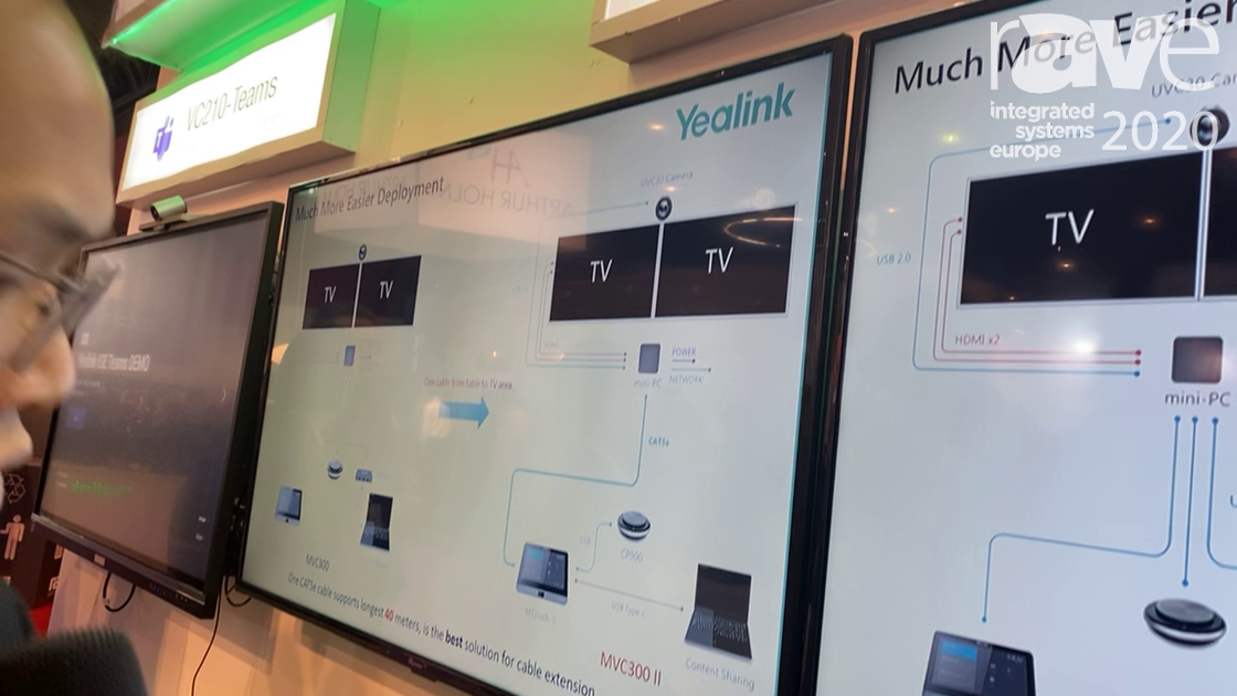 ISE 2020: Yealink Showcases the MVC800 II Bundle for Microsoft Teams Rooms