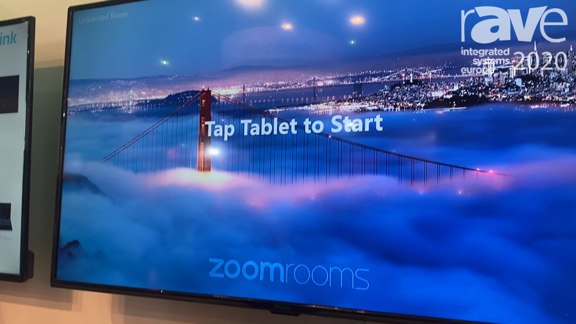 ISE 2020: Yealink Video Solutions Displays Its CP960-UVC Hardware Kits for Zoom Rooms