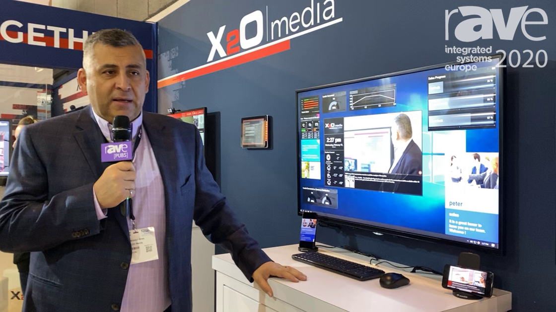 ISE 2020: X20 Media Shows How Digital Signage and Employee Communications Can Work in Harmony