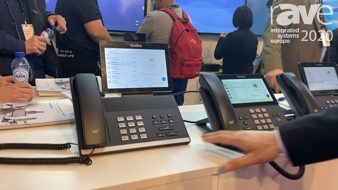 ISE 2020: Yealink Intros a Series of Native Microsoft Teams Phone